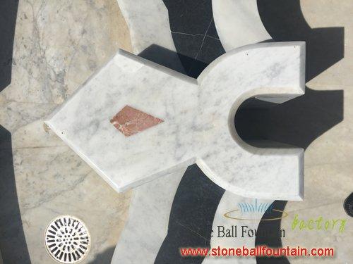 Carrara Outdoor White Marble Fountain