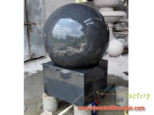 Padang Dark Granite Ball Fountain