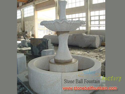 G682 Yellow Granite Garden Fountain