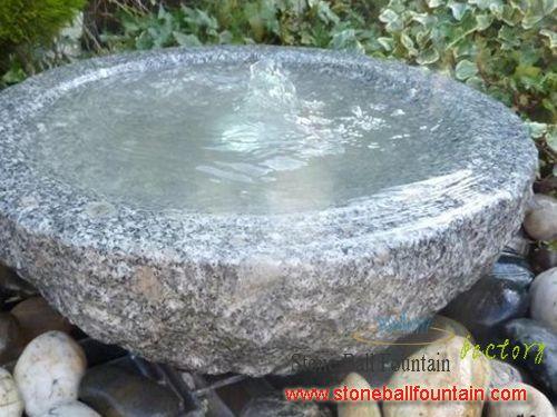 Cheap G603 Granite Fountain Bowl