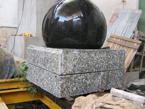 Granite Ball Water Fountain