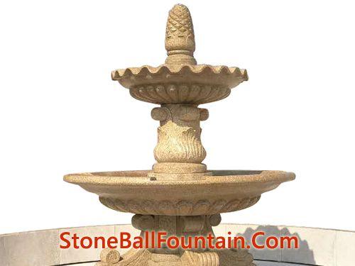 Outdoor Granite Stone Fountain G682