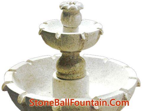 Golden Rust Granite Water Fountains